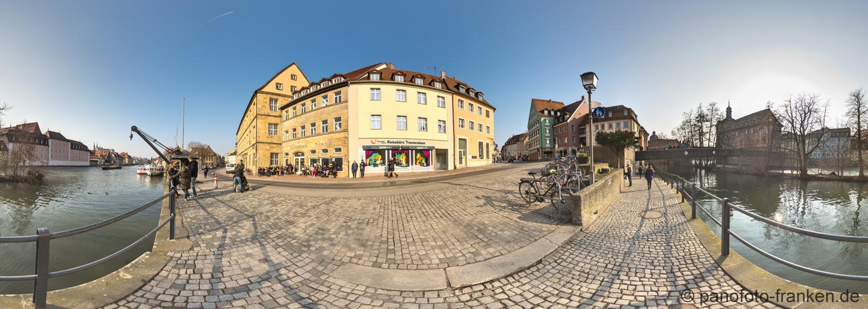 Bamberg - Altes Rathaus | 360° - Panorama