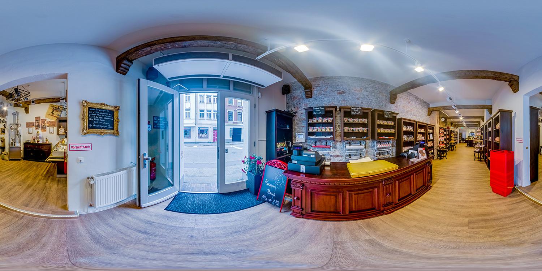 Kaffeerösterei| 360° - Panorama