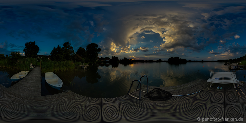 Sonnenuntergang | 360° - Panorama